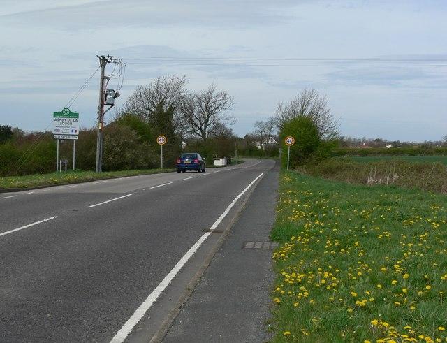 Leicester Road towards Ashby de la Zouch