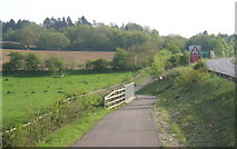 TM1154 : Cycleway to Ipswich by the A140 by Andrew Hill