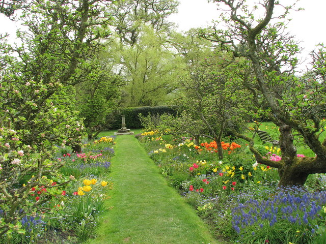 Hergest Croft - ornamental orchard