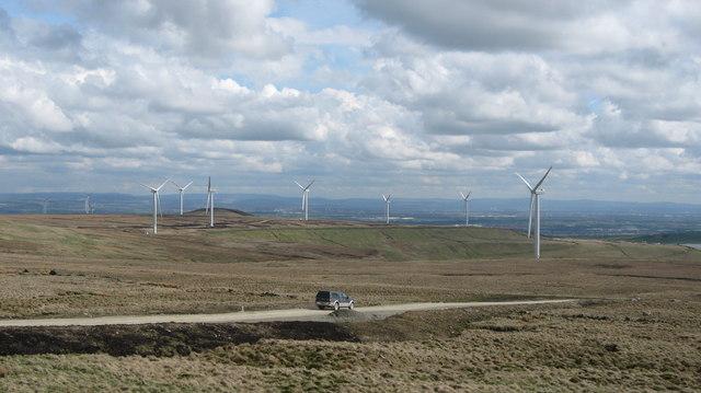 Scout Moor Wind Farm May 2008