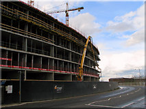J3574 : Cranes and concrete, Belfast [4] by Rossographer