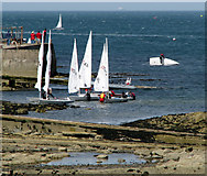 J5182 : Yachts, Ballyholme Bay [8] by Rossographer