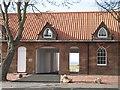 NT4679 : Renovated building, Aberlady by Richard Webb