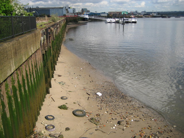 River Thames at Blackwall