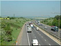 TQ5885 : M25 motorway by Robin Lucas