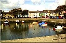 SN4562 : Aberaeron Harbour by John Firth