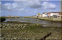 SN4562 : View of Harbour mouth by John Firth