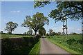 SJ5837 : Lane to Ashacres Farm by Espresso Addict