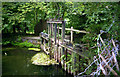 SU4622 : Remains of former Brambridge Lock, Itchen Navigation by Dr Neil Clifton