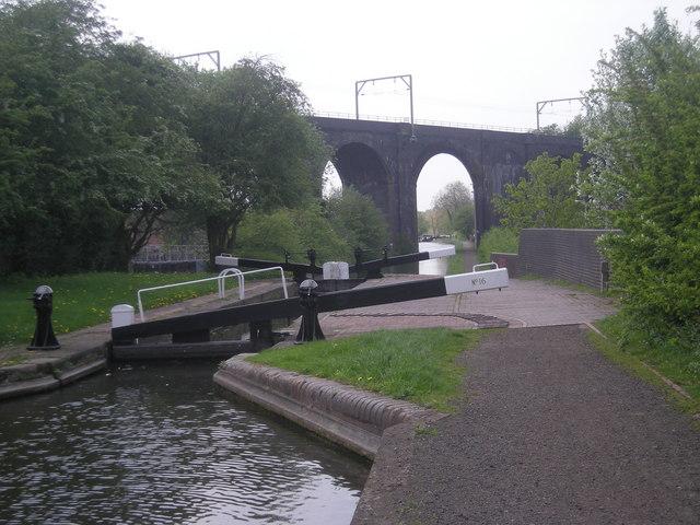 Lock No 16 & Dunstall Viaduct