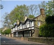 SE1225 : Harrock Cottage and Harrock - Wakefield Road, Hipperholme by Betty Longbottom
