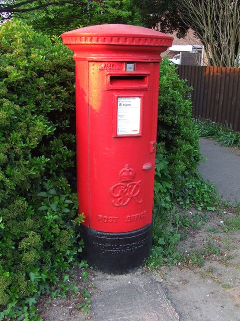 G.R. postbox