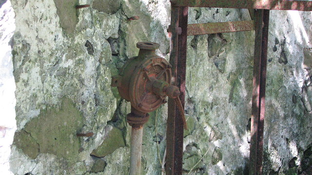 An old water pump