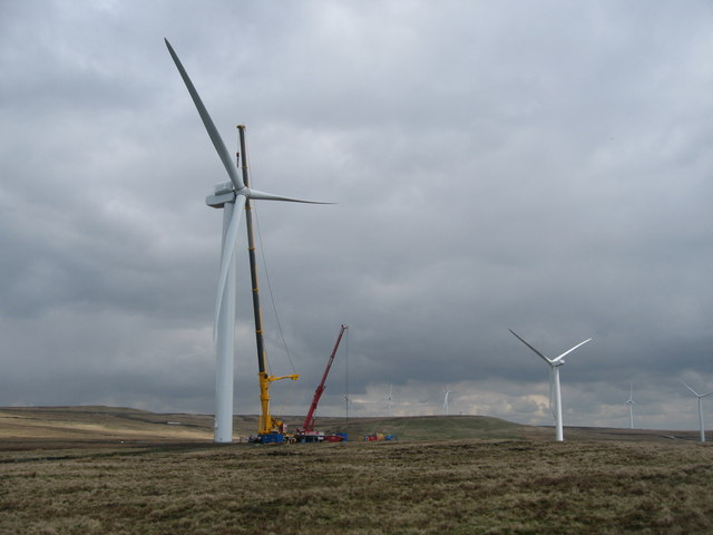 Scout Moor Turbine Towers 11 and 14