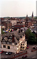 SK3871 : Chesterfield - View from the roof of the AGD by Alan Heardman