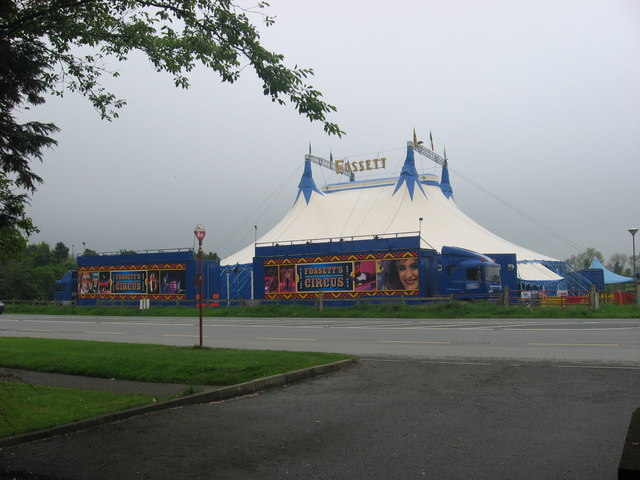 Circus at Colpe Cross, Co. Meath