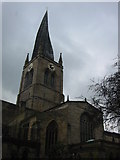 SK3871 : Crooked Spire St Mary's Church by Peter Gordon Neville Smyly