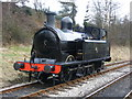 """SE0335 : """"Taff Vale"""" 0-6-2 at Oxenhope... by Allan Friswell"""