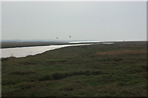 TG0345 : Cley Channel by Stephen McKay