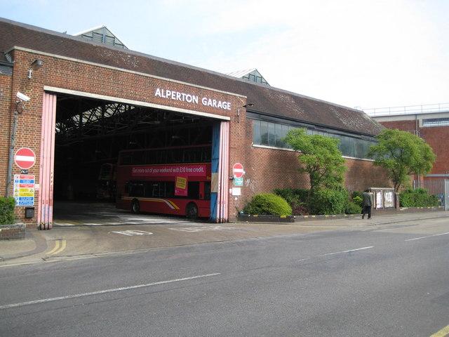 Alperton bus garage