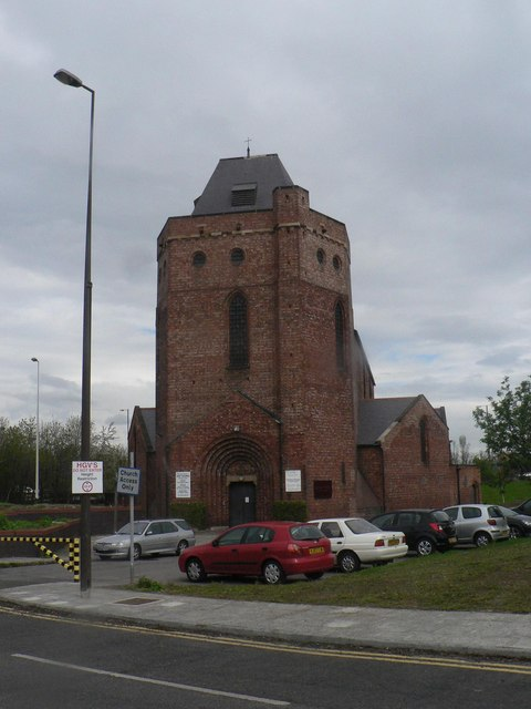 Middlesbrough: parish church of St. Columba