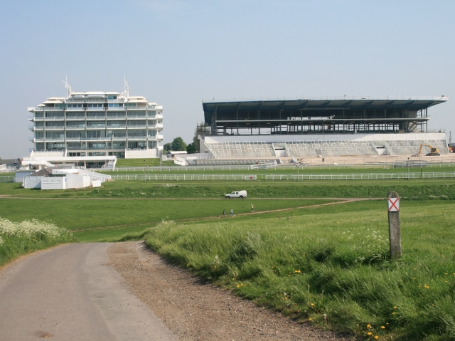 The Queen's Stand and the new grandstand from Walton Road