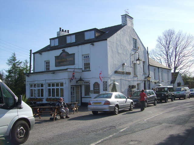 The Anglers Arms at Haverthwaite