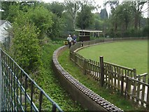 SO8483 : Riding the rails at the miniature railway by John M