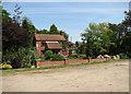 TG3825 : Brickyard Farm by Evelyn Simak