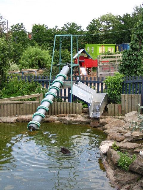 Archimedes' Screw at Heeley City farm