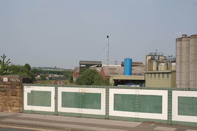 Drummond Street railway bridge