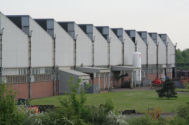 Corus Rotherham, the Bright Bar rolling mill