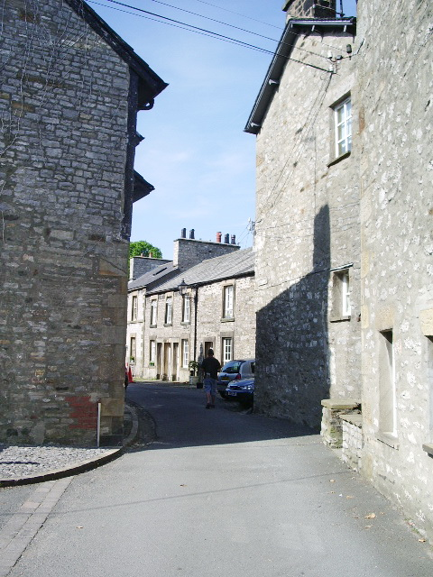 Looking into Horse Market from Back Lane