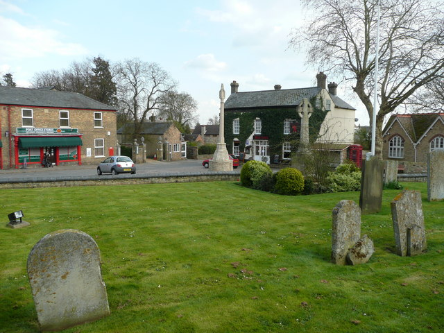 Stretham village centre