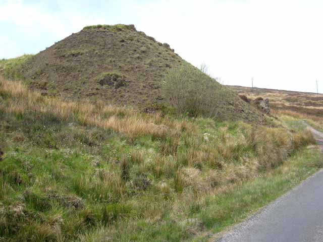 Spoil heap at Aghabehy