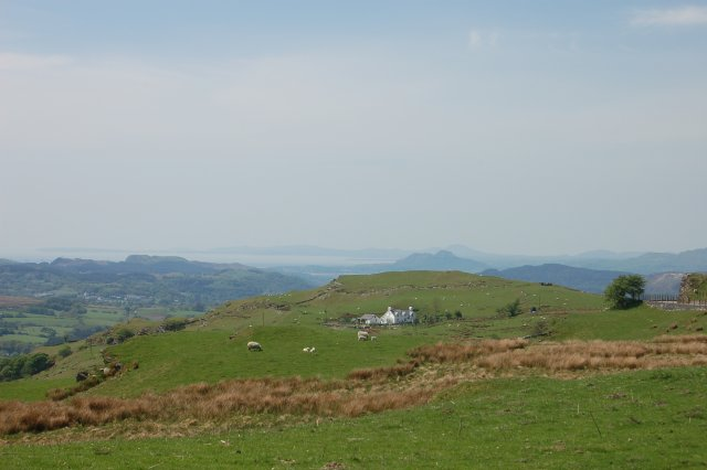 View across to Cardigan Bay by John Firth