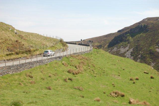 B4391 road looking towards Bala. by John Firth