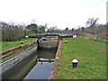 SO8660 : Droitwich Barge Canal lock 6, looking west by P L Chadwick
