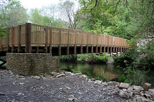 Footbridge over the River Walkham