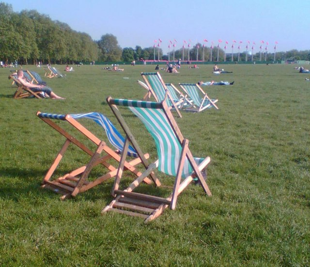 Hyde Park deck-chairs