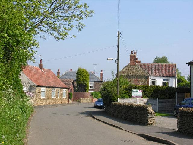 Whitton village, south end