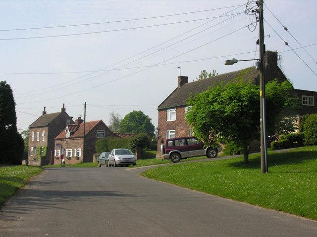 Whitton village, north end