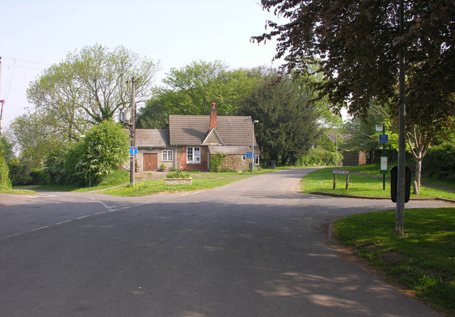 Whitton, road junction