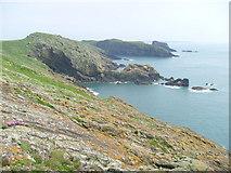 SM7108 : Skomer Head and The Basin by Rob Woodall