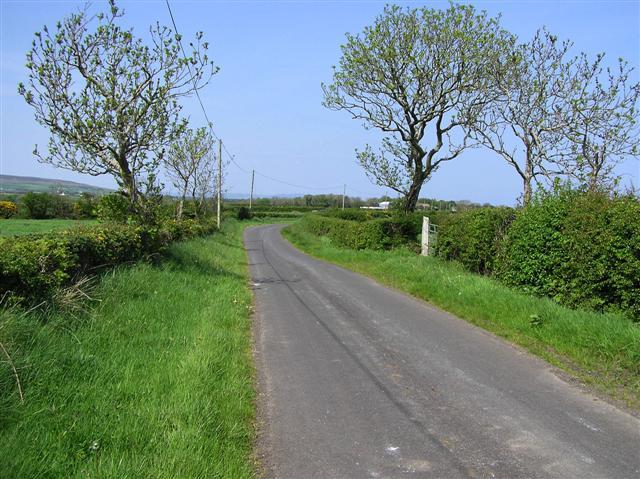 Road at Ballwildrick