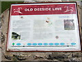 NJ9103 : Old Deeside Line by Stanley Howe