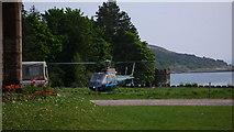 NM4099 : Luxury transport, Isle of Rum by Calum McRoberts