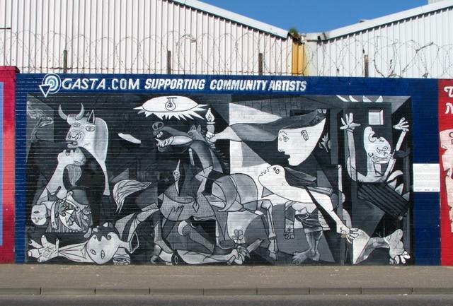 Mural, Falls Road, Belfast [3]