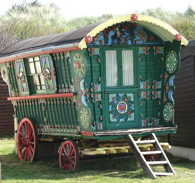 A gypsy caravan