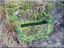 SE0419 : Trough, Bank Hey Bottom Lane, Barkisland by Humphrey Bolton